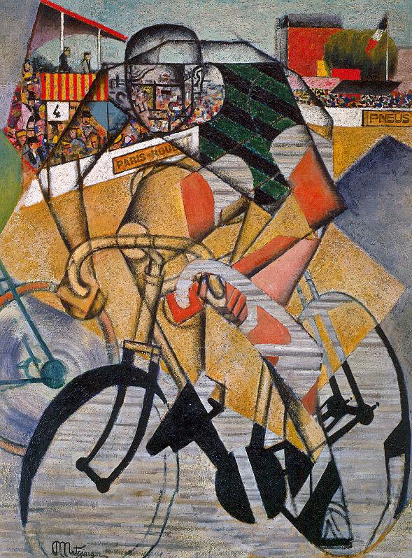 Jean Metzinger. Bike
