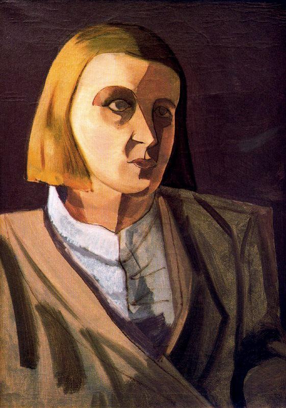Эмилио Петторути. Портрет женщины