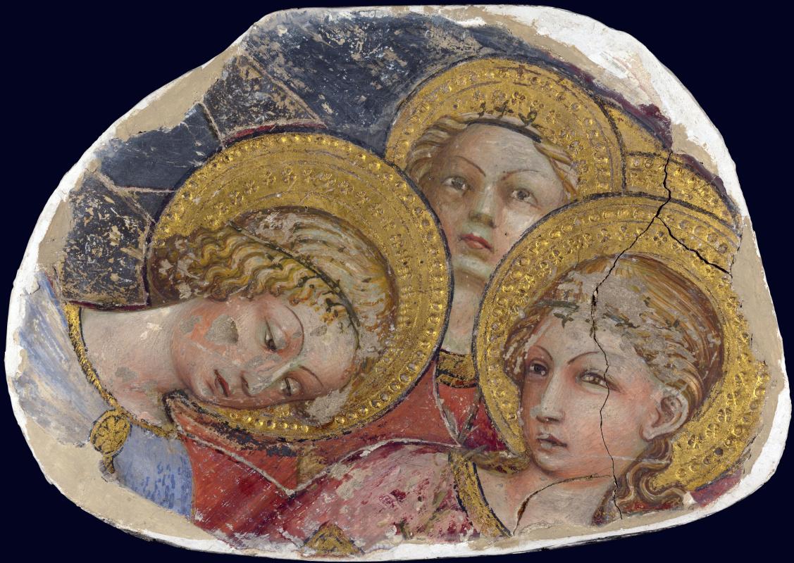 Тосканской Итальянский. Головы ангелов