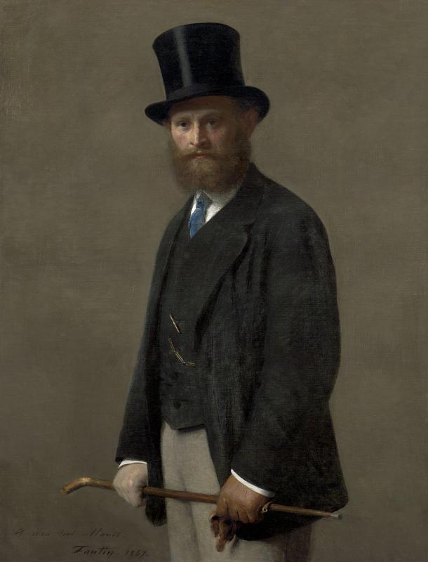 Henri Fantin-Latour. Portrait Of Edouard Manet