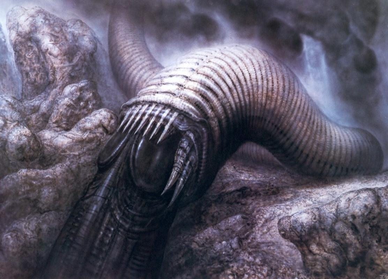 Ганс Рудольф Гигер. Дюнный червь