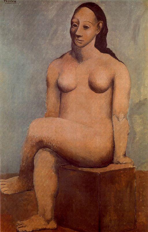 Пабло Пикассо. Обнаженная грация