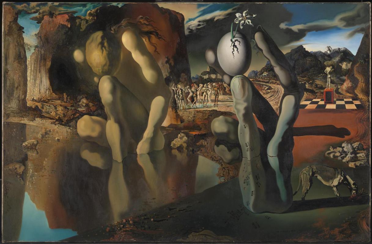 Salvador Dali. Metamorphosis of Narcissus
