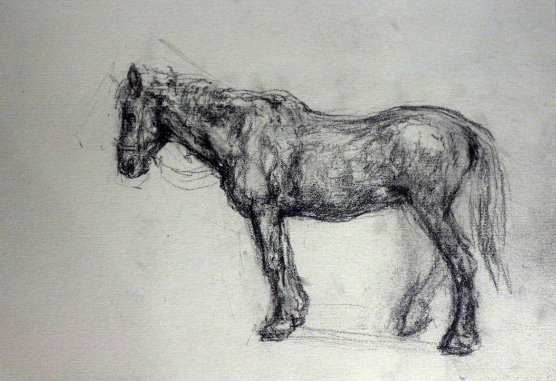 Mikhail Grebenkov. Horse