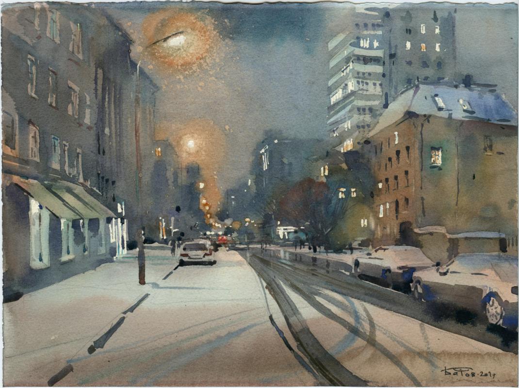 Anton Batov. Blacktrop City