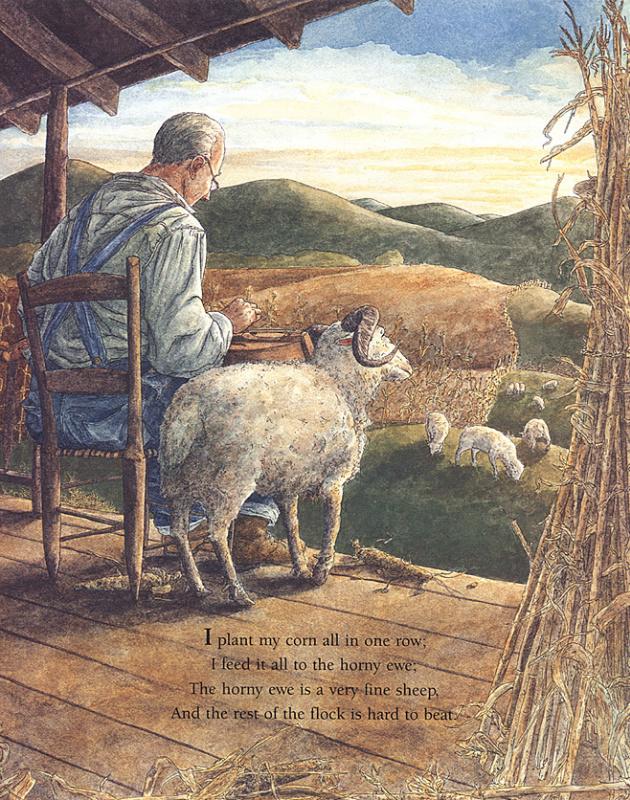 Кимберли Балкен Рут. Овцы