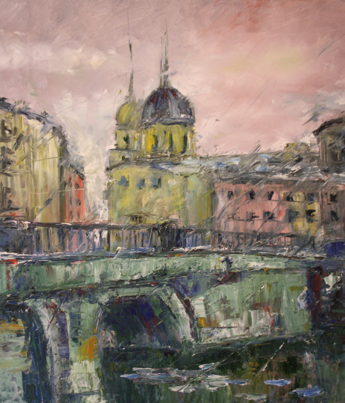 Vsevolod Chistyakov. Picture To Buy In Saint Petersburg Attractions Landscape Painting