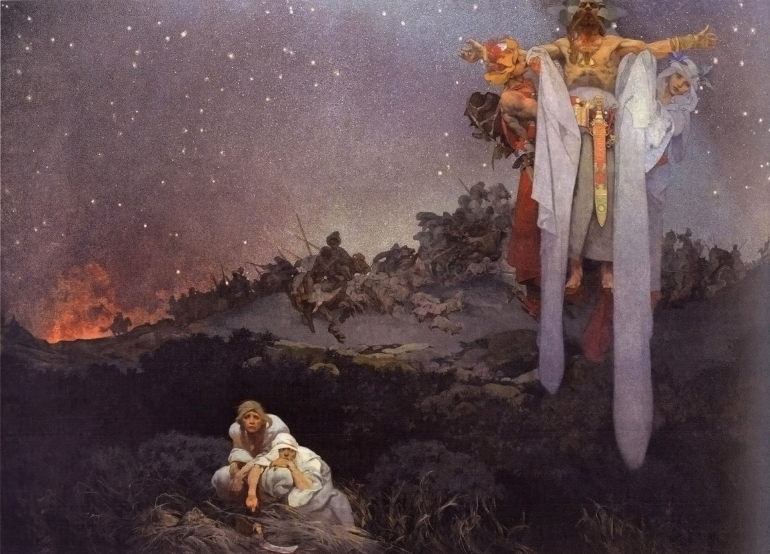 Alfons Mucha. The Slavs on their land