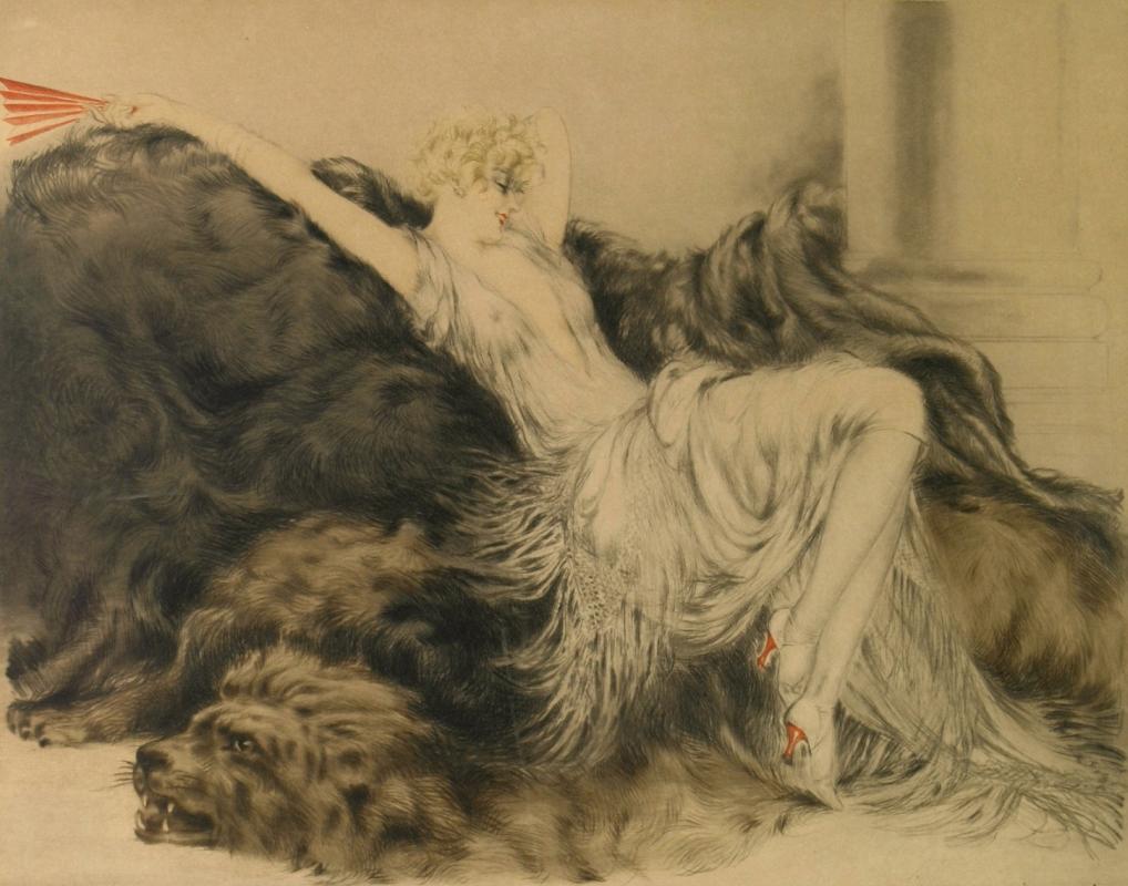 Icarus Louis France 1888 - 1950. Laziness.