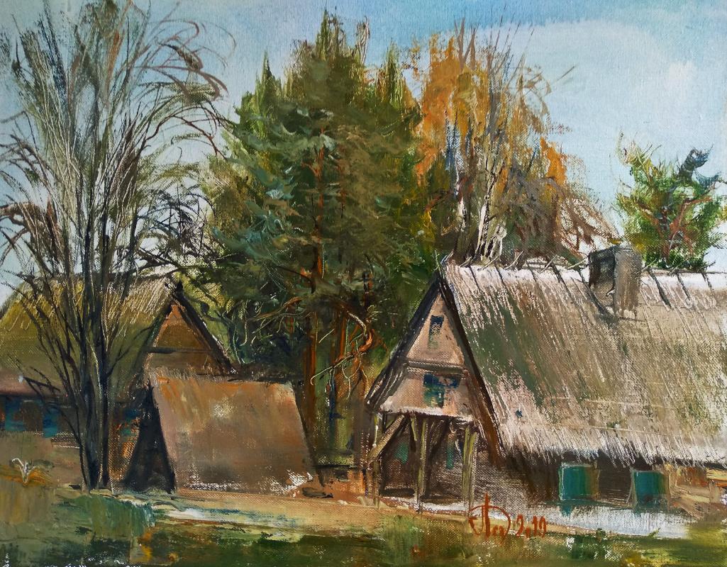 Alexander Alekseevich Lednev. Polish village
