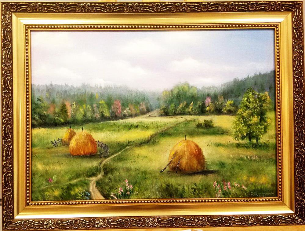 Ольга Болеславовна Горпинченко. Fragrant August