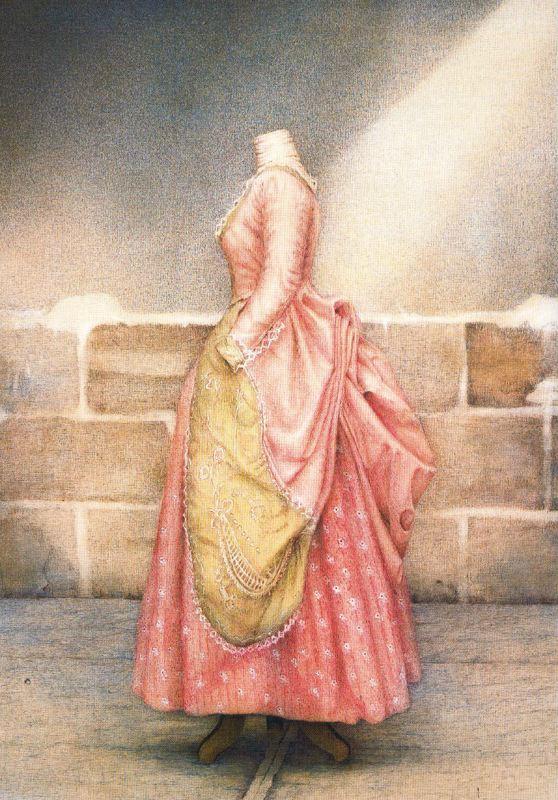 Ковадонга Саррагуа. Женское платье