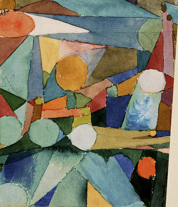 Paul Klee. Colors and shapes
