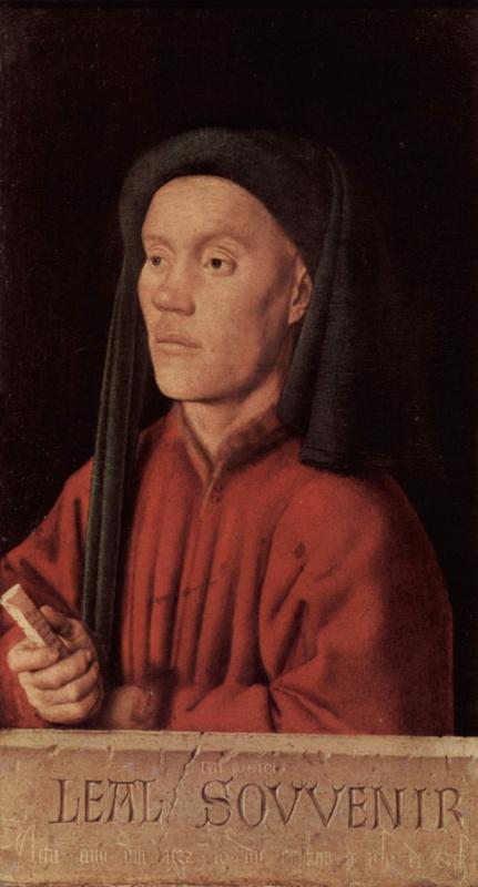 Ян ван Эйк. Мужской портрет