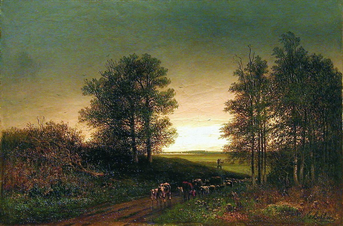 Efim Efimovich Volkov. The return of the flock