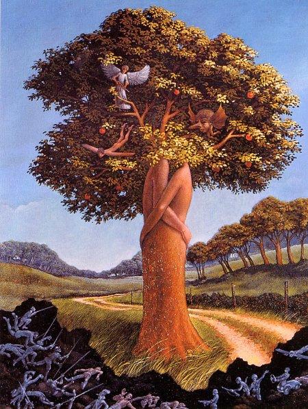 Андре Роуиллард. Дерево