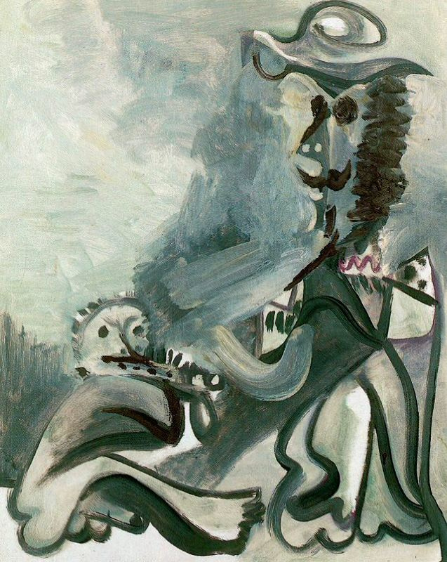 Пабло Пикассо. Фигуры