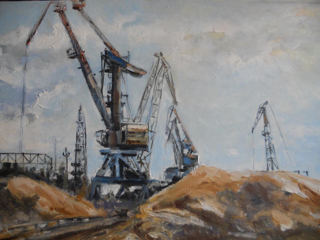 Edward Rudolfovich Votyakov. Iron birds of Levshinsky port. Kama.