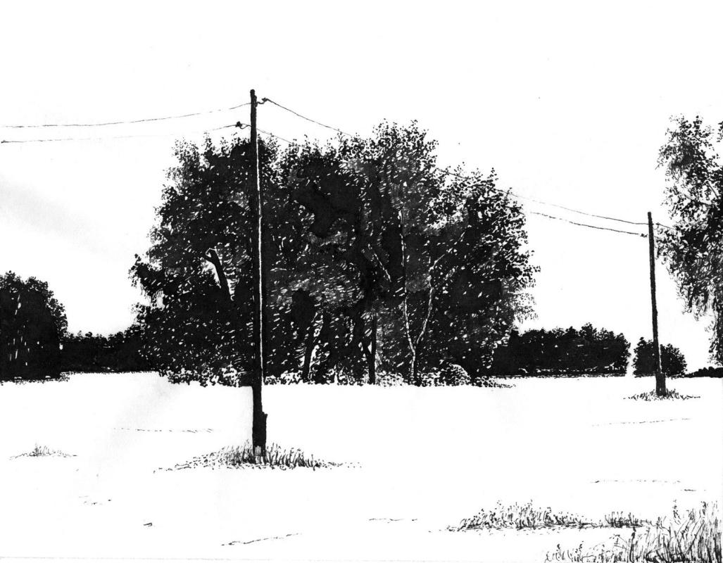 Vladimir Vasilyevich Abaimov. In the Middle of Winter 3