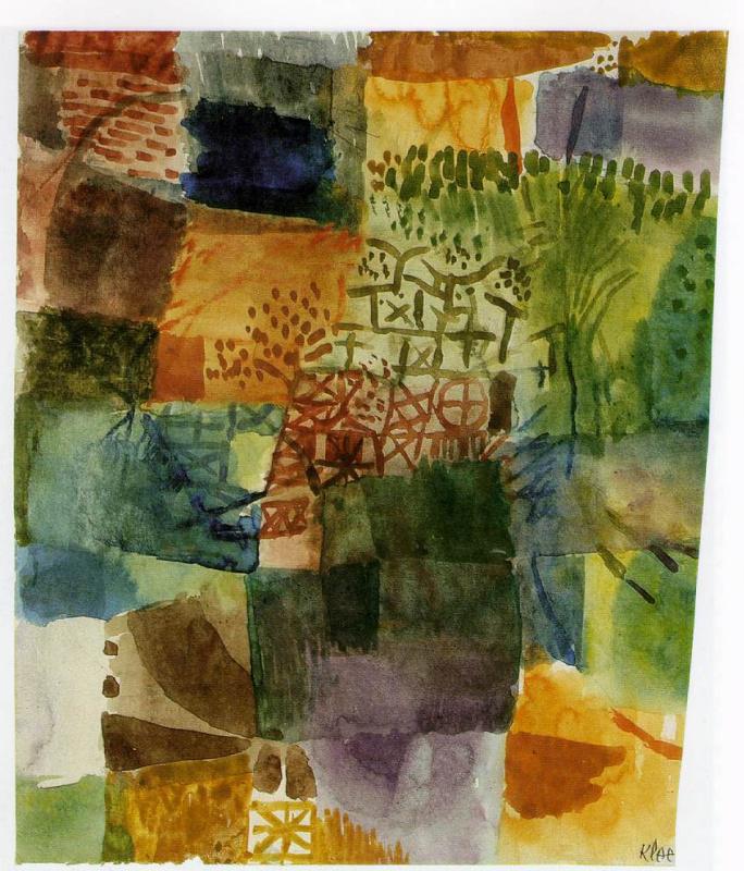 Paul Klee. Memory of the garden