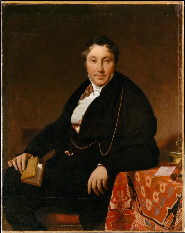 Jean Auguste Dominique Ingres. Jacques-Louis LeBlanc