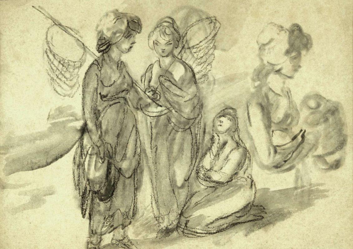 Thomas Gainsborough. Shrimpers. Sketch