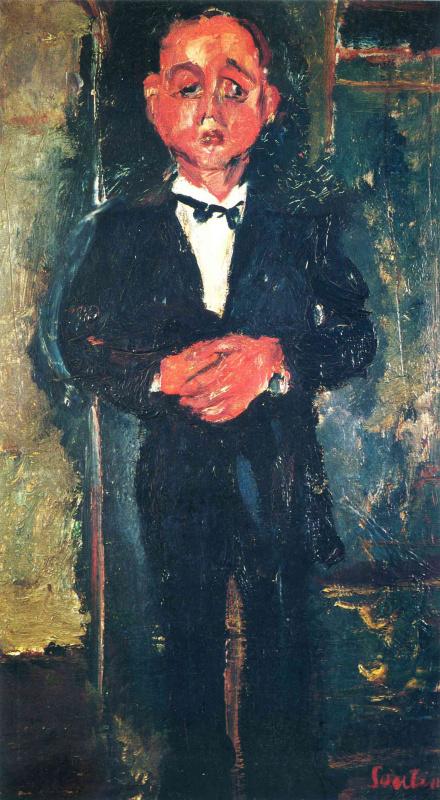 Хаим Соломонович Сутин. Мужчина с бабочкой