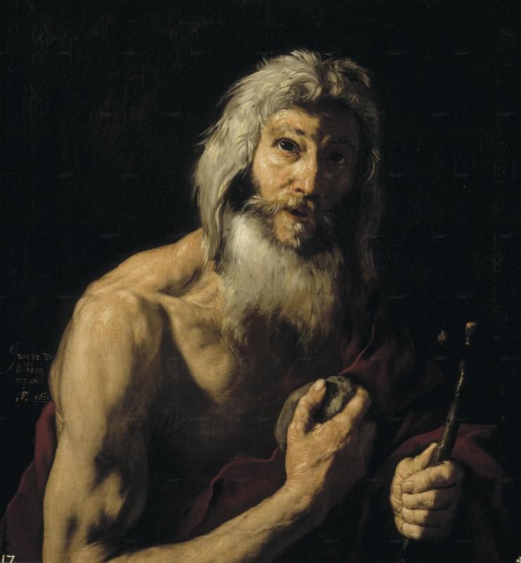 Jose de Ribera. The penitent St. Jerome