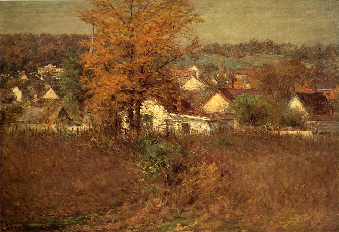 John Ottis Adams. Village