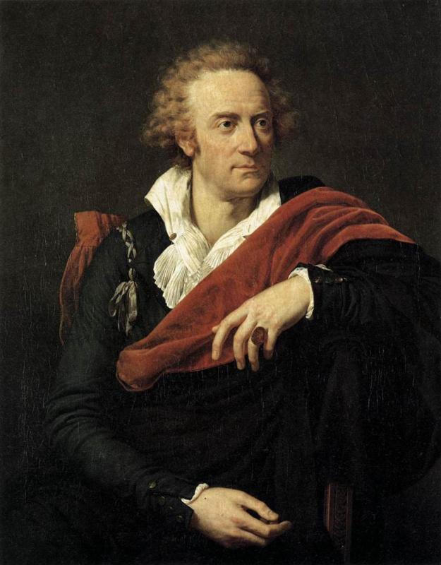 Франсуа-Ксавьер Фабр. Портрет Витторио Альфьери