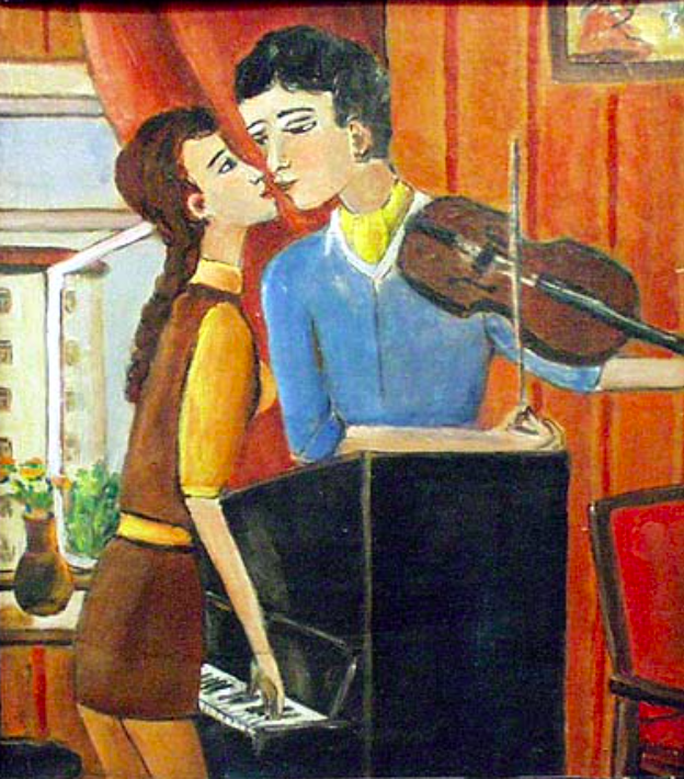Vladimir Ivanovich Makarov. Love melody