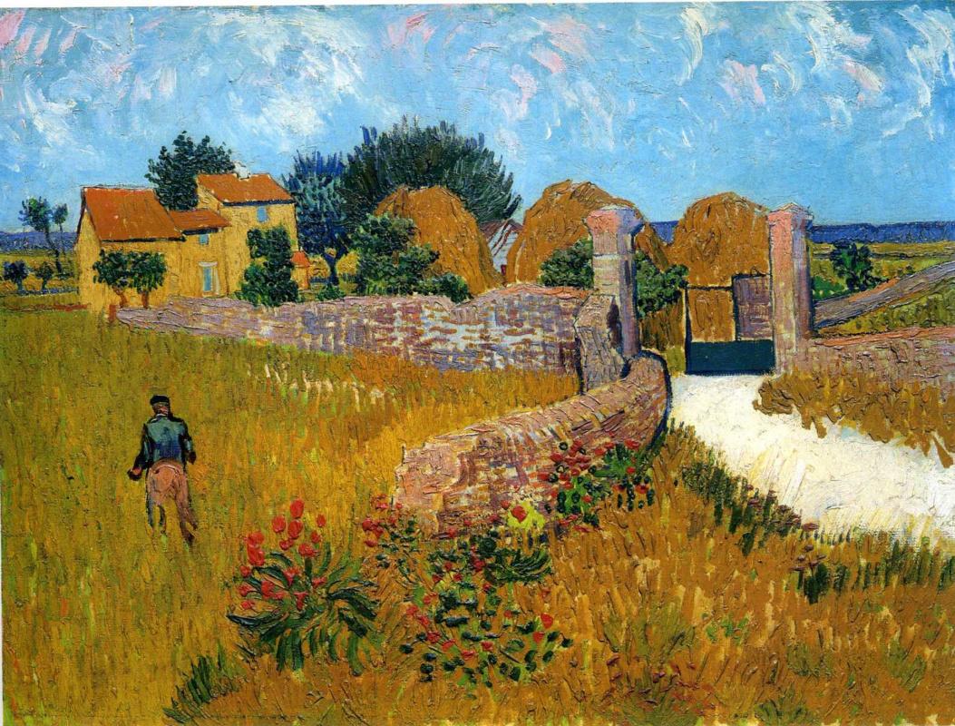 Винсент Ван Гог. Ферма в Провансе