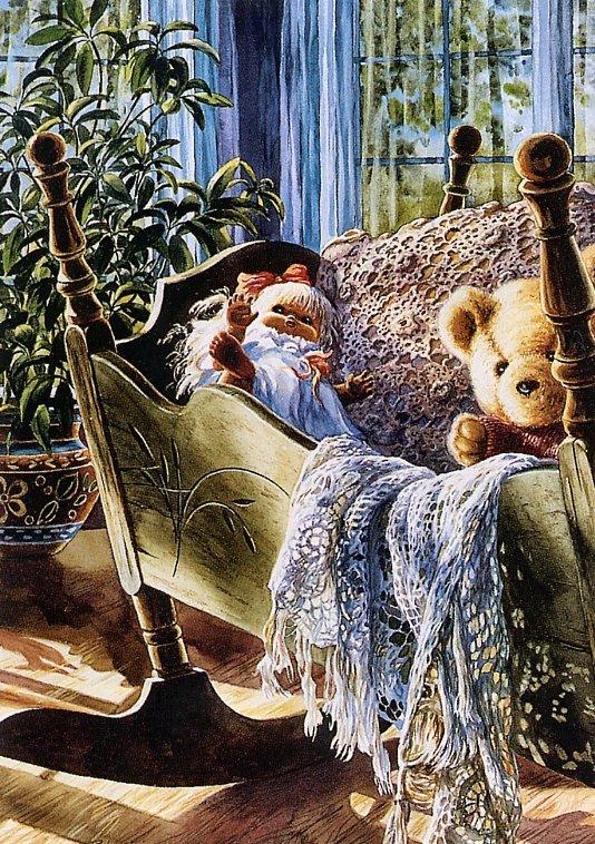 Рэйчел Лаббе. Плюшевый медведь