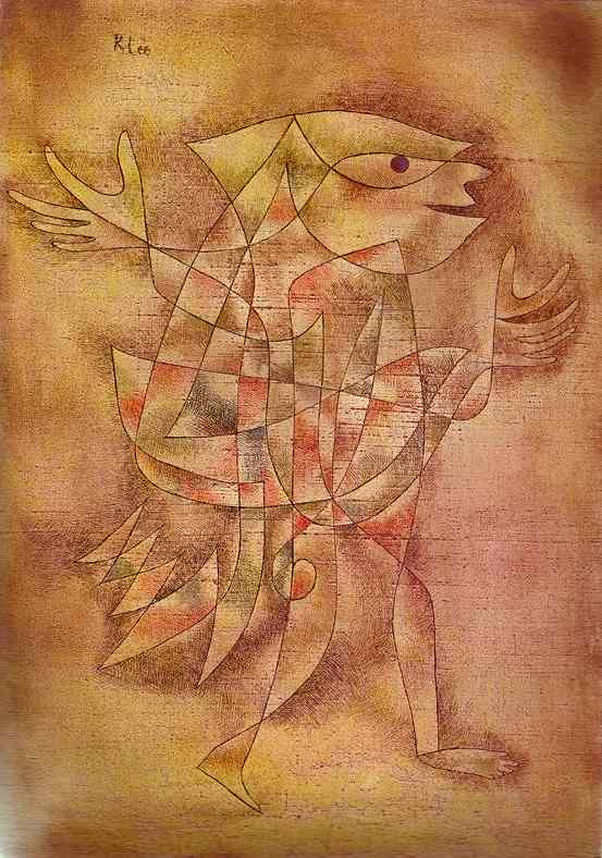 Paul Klee. Little jester in a trance