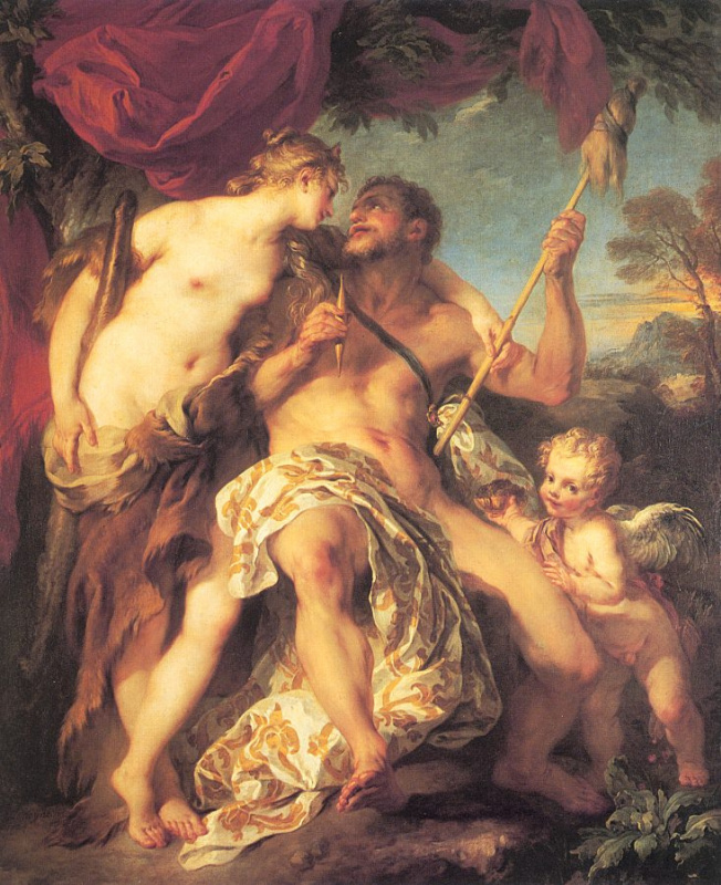Франсуа Лемуан. Геракл и Омфала