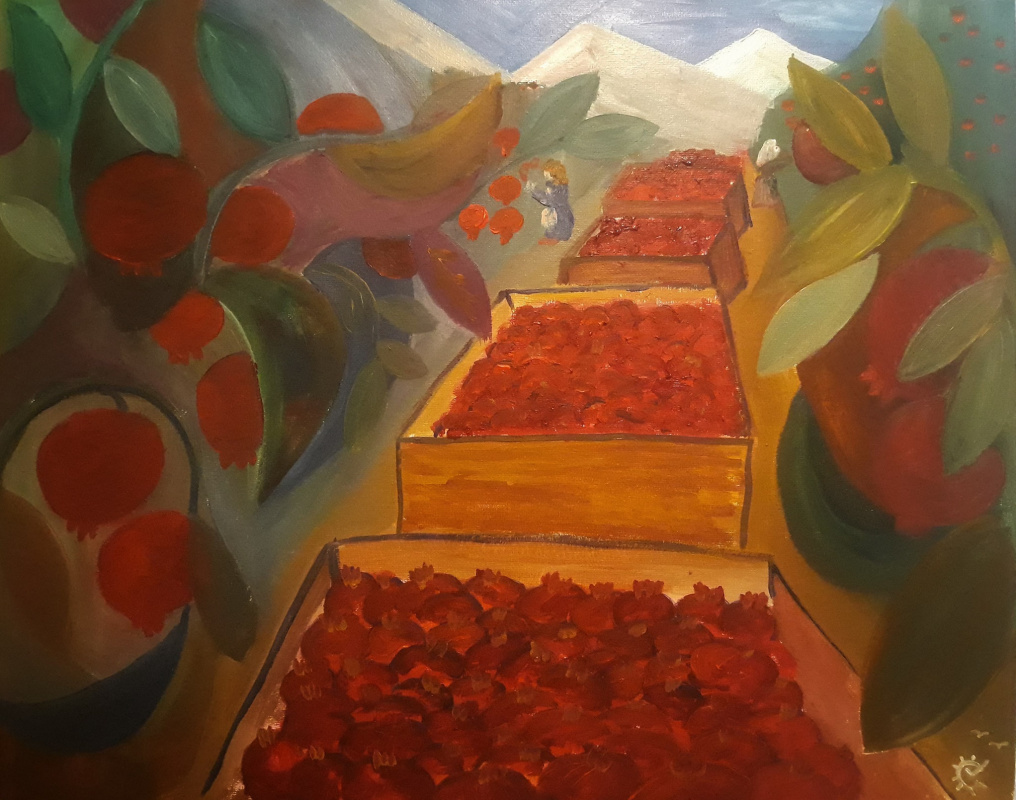 Владимир Гарникян. Pomegranate picking