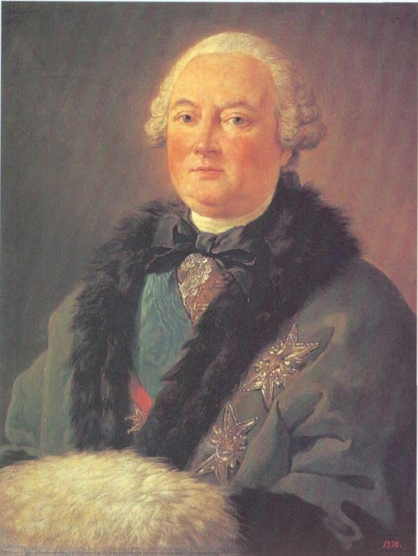 Луи Жан Франсуа Лагрене-старший. Портрет маркиза де Лопиталь