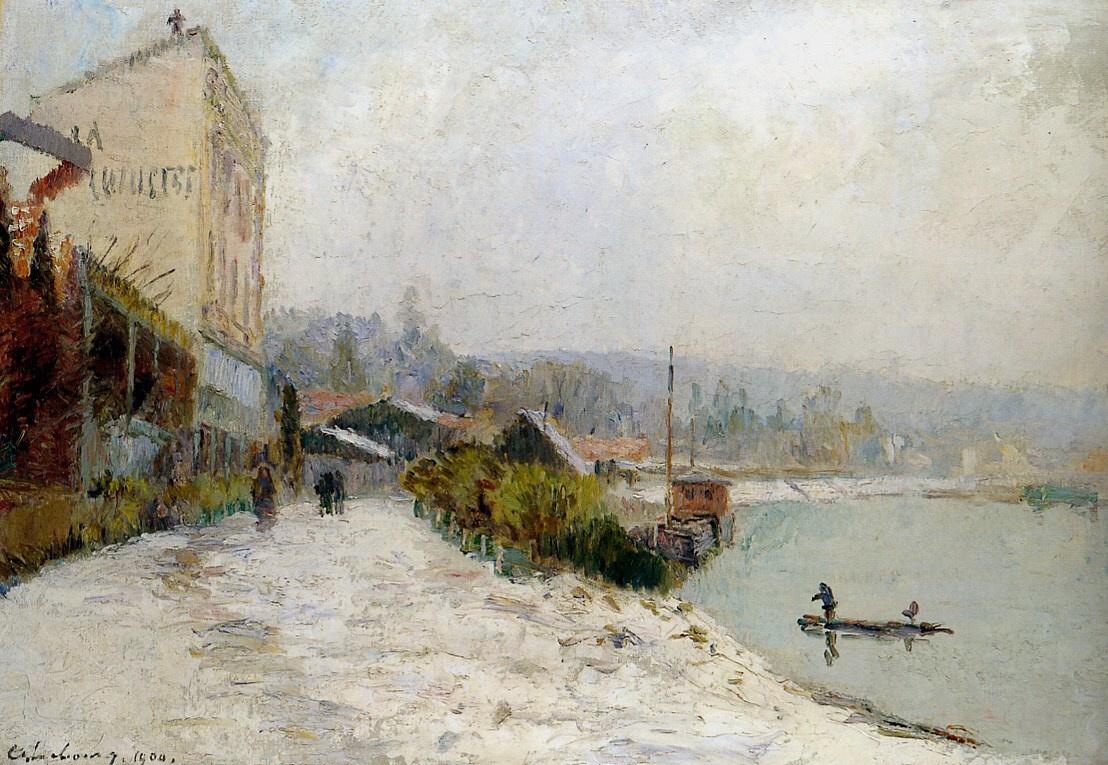 Альберт-Чарльз Лебоург. Сена в нижнем Медоне