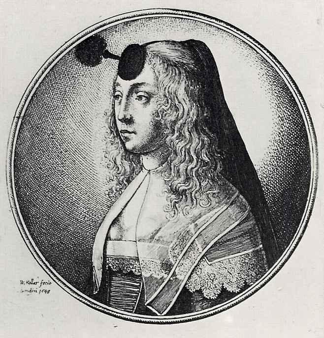 Венцель Холлар. Медальон