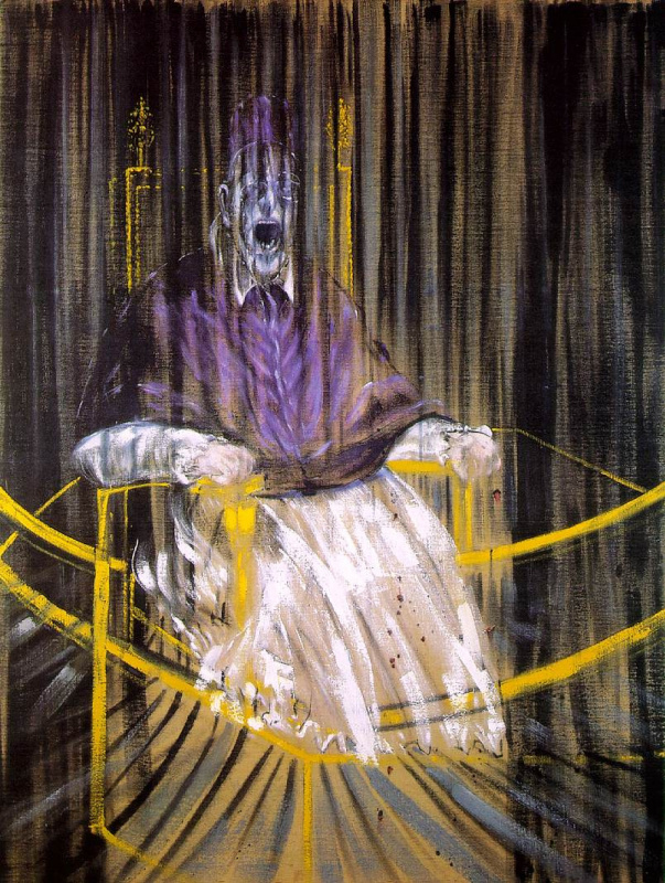 Francis Bacon. Portrait of Pope Innocent X