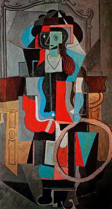 Пабло Пикассо. Девушка с обручем