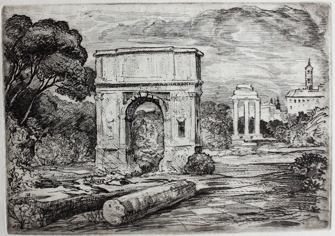 Vadim Sergeevich Zhitnikov. Arch of Titus