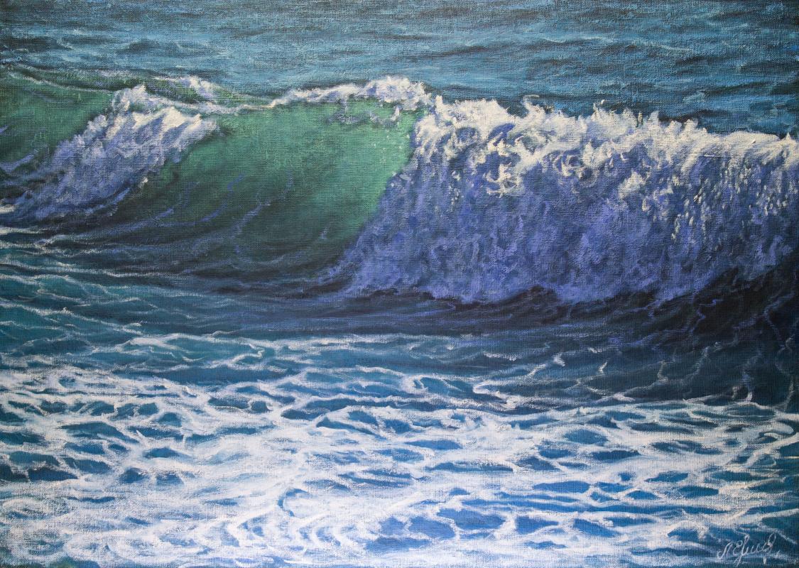 Valery Levchenko. No. 5873 Seascape.