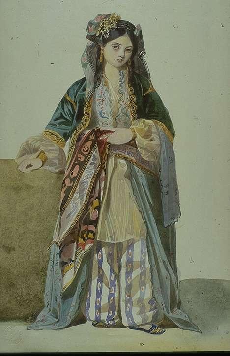 Шарль Глейр. Турецкая девушка