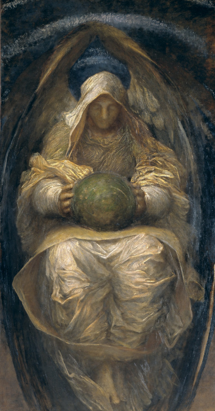 George Frederick Watts. Guardian Angel (The All-pervading Spirit of the Universe)
