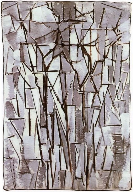 Piet Mondrian. Composition: trees 2
