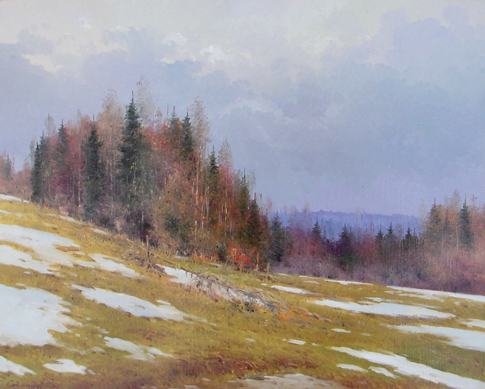 Vasily Ivanovich Gribennikov. Spring came