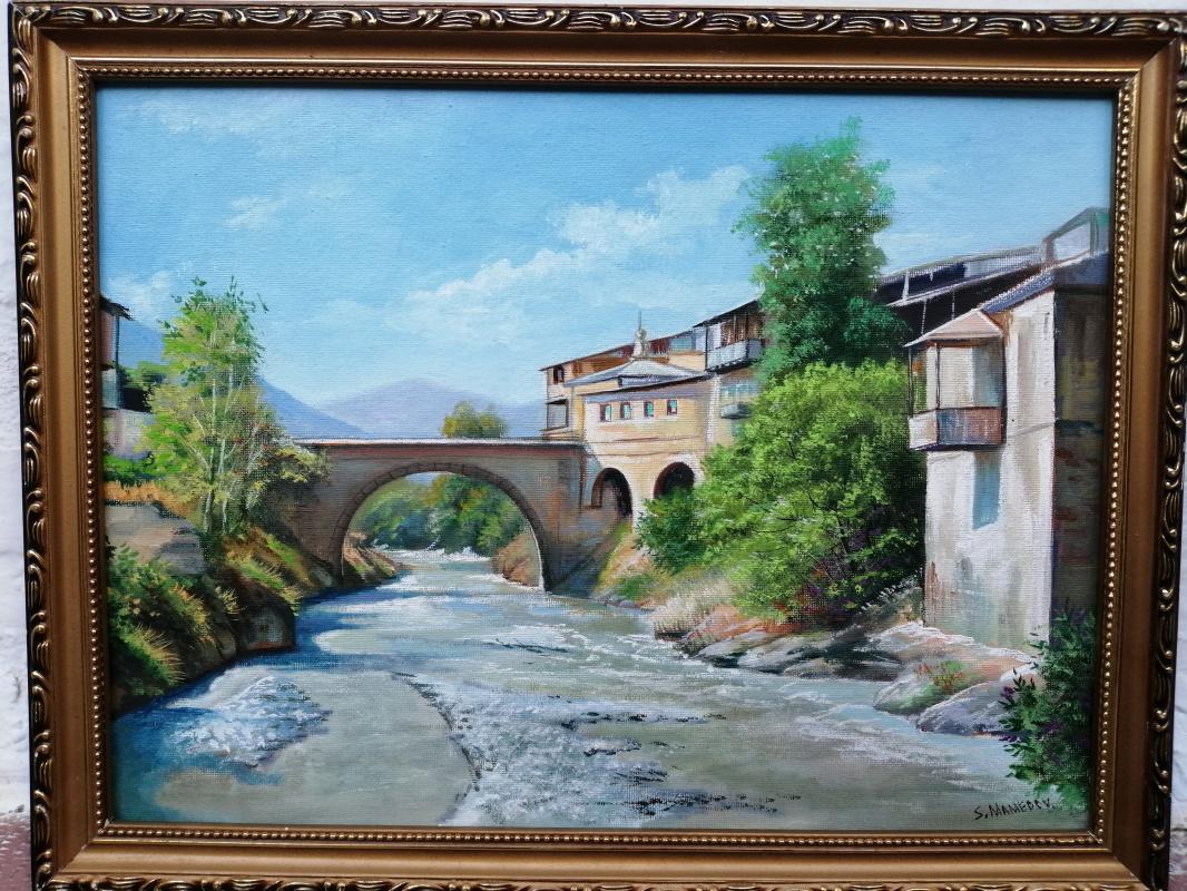 Seyran Mammadov. Akhtyn bridge