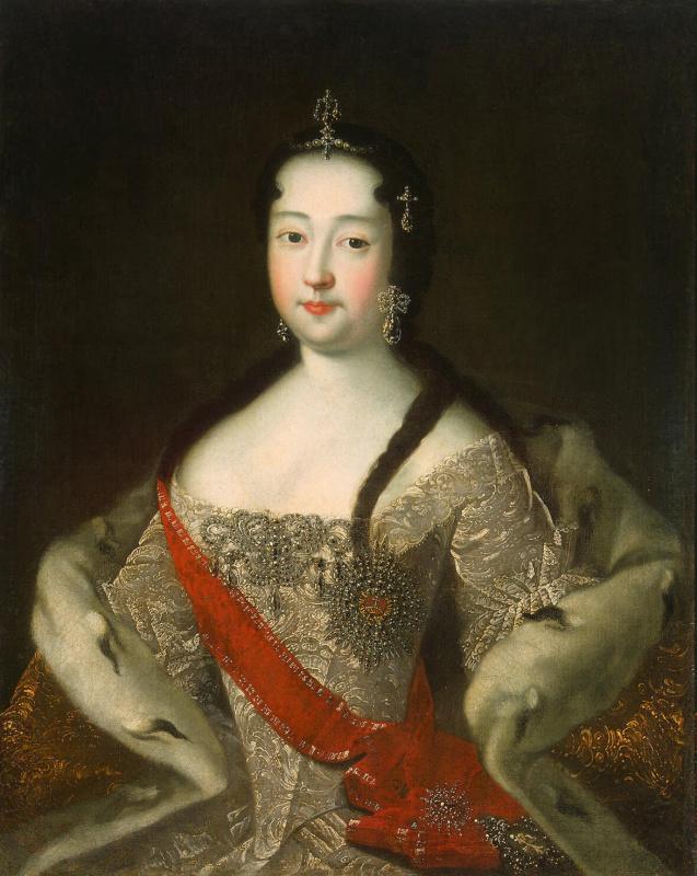 Портрет царевны Анны Петровны