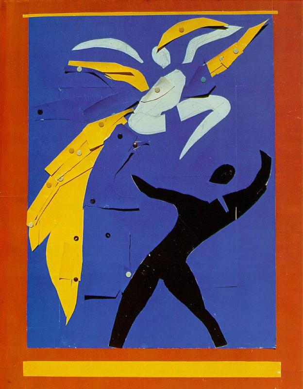 Анри Матисс. Два танцора